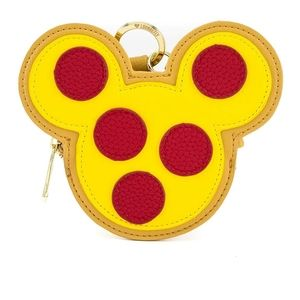 Loungefly Mickey mouse pizza coin purse